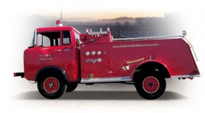 Hook & Ladder Fire Truck